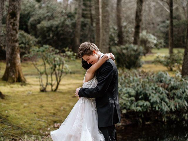 Brent and Diane's Wedding in Highlands, North Carolina 15