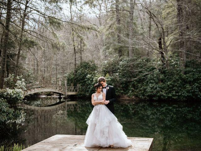 Brent and Diane's Wedding in Highlands, North Carolina 16