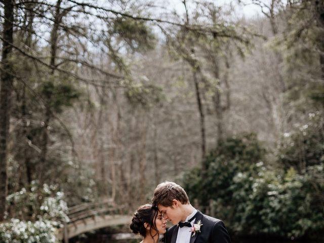Brent and Diane's Wedding in Highlands, North Carolina 17