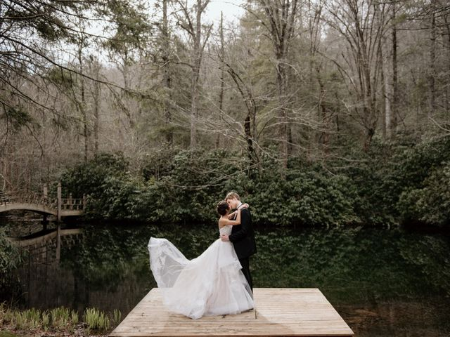 Brent and Diane's Wedding in Highlands, North Carolina 18