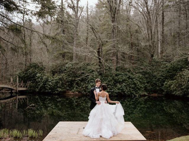Brent and Diane's Wedding in Highlands, North Carolina 19