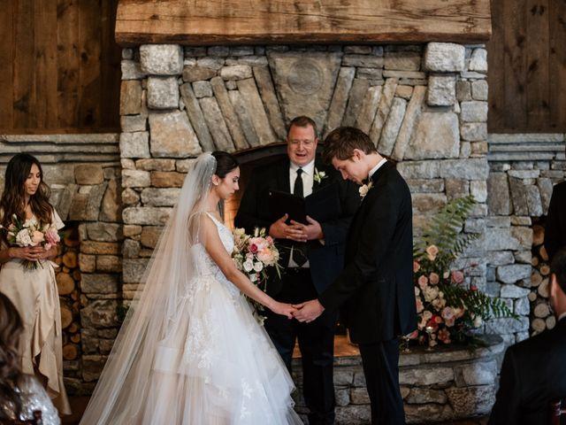 Brent and Diane's Wedding in Highlands, North Carolina 32