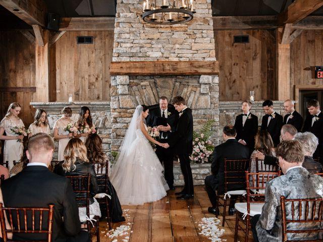 Brent and Diane's Wedding in Highlands, North Carolina 33