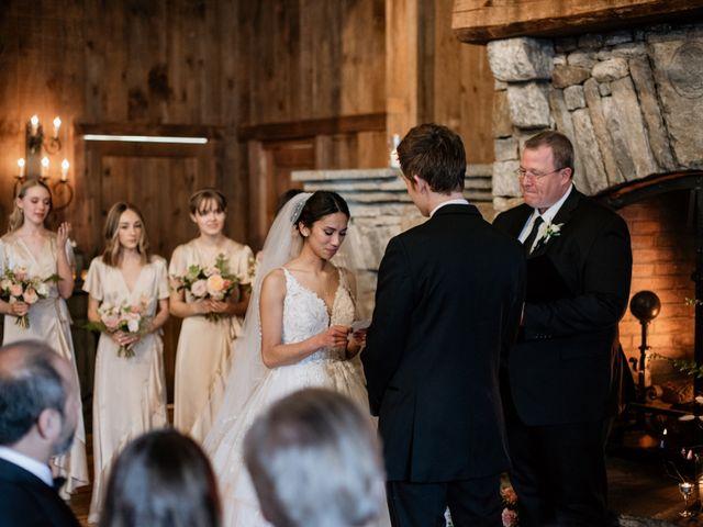 Brent and Diane's Wedding in Highlands, North Carolina 34