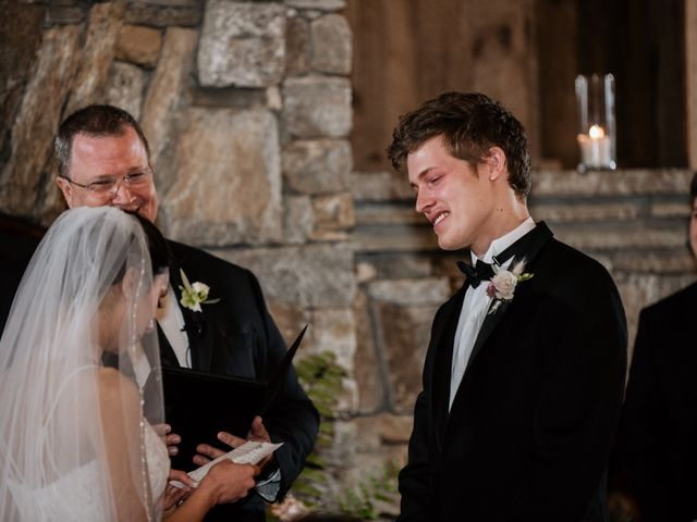 Brent and Diane's Wedding in Highlands, North Carolina 35