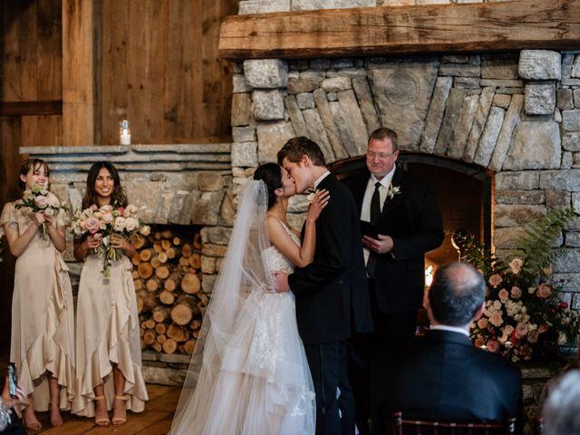 Brent and Diane's Wedding in Highlands, North Carolina 36