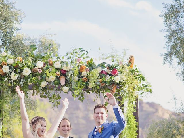 Albie and Ashley's Wedding in Paradise Valley, Arizona 88
