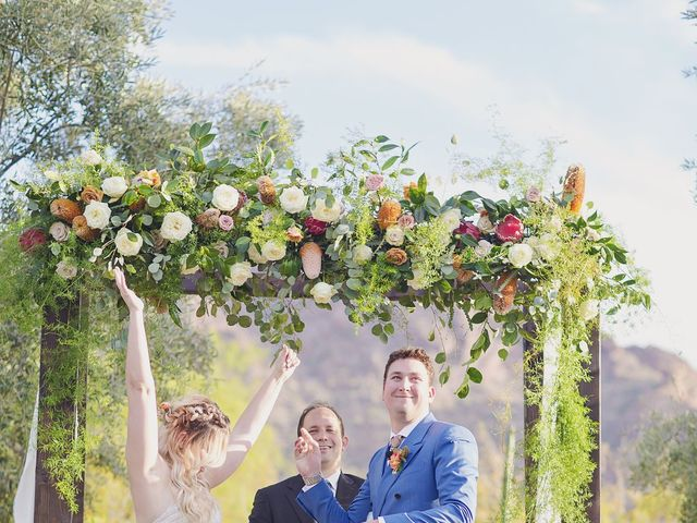 Albie and Ashley's Wedding in Paradise Valley, Arizona 89