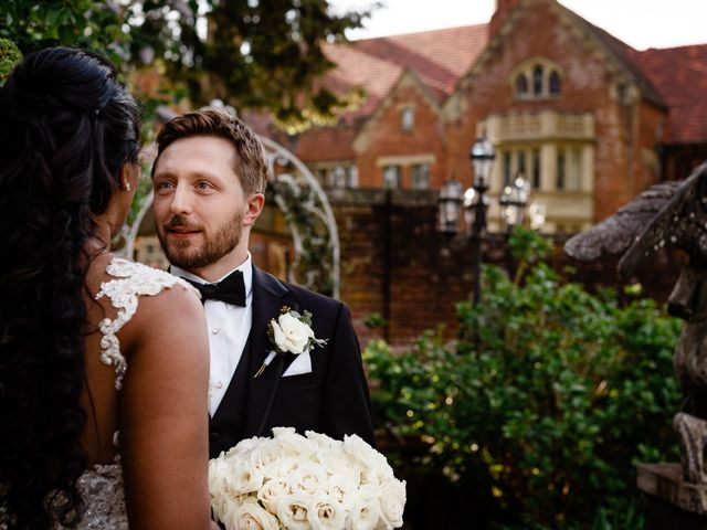 The wedding of Brandon and Meneesha