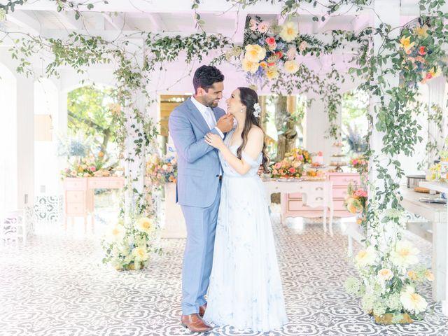 The wedding of Anais and Simon