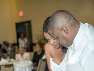The wedding of Helen and Jermaine 1