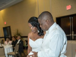 The wedding of Helen and Jermaine 2