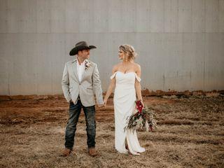 The wedding of Shane and Kayla
