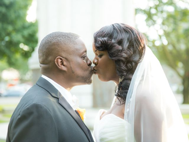 The wedding of Helen and Jermaine