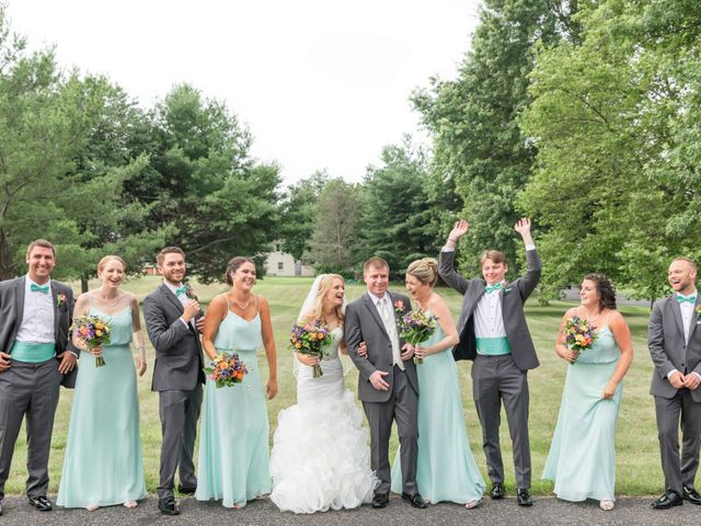 Luke and Emily's Wedding in Macungie, Pennsylvania 15