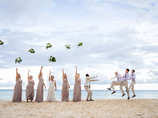 Mike and Kayla's Wedding in Playa del Carmen, Mexico 1