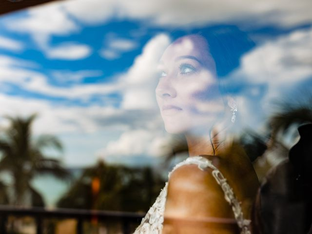 Mike and Kayla's Wedding in Playa del Carmen, Mexico 10
