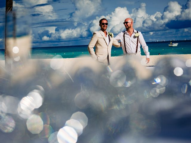 Mike and Kayla's Wedding in Playa del Carmen, Mexico 11