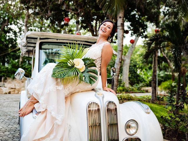 Mike and Kayla's Wedding in Playa del Carmen, Mexico 12