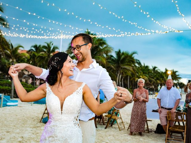 Mike and Kayla's Wedding in Playa del Carmen, Mexico 15