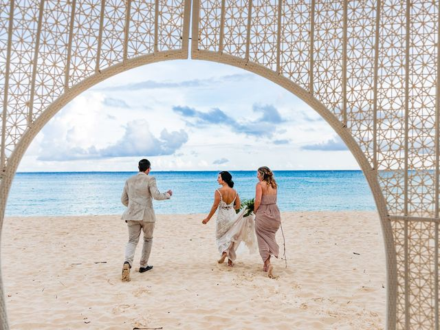 Mike and Kayla's Wedding in Playa del Carmen, Mexico 18
