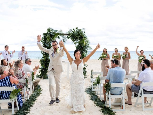 Mike and Kayla's Wedding in Playa del Carmen, Mexico 20