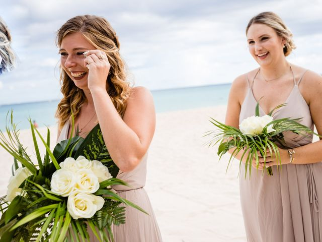 Mike and Kayla's Wedding in Playa del Carmen, Mexico 22