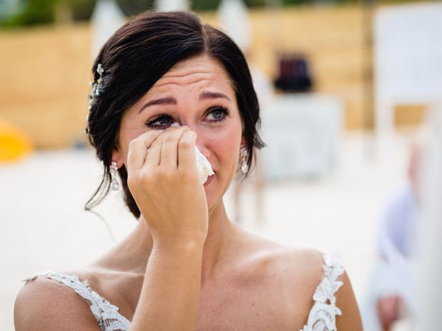 Mike and Kayla's Wedding in Playa del Carmen, Mexico 23