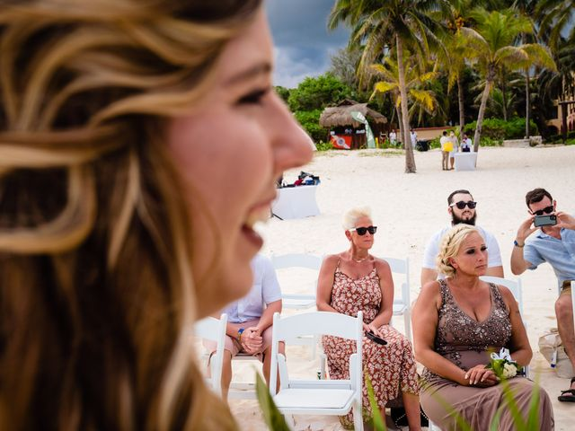 Mike and Kayla's Wedding in Playa del Carmen, Mexico 24
