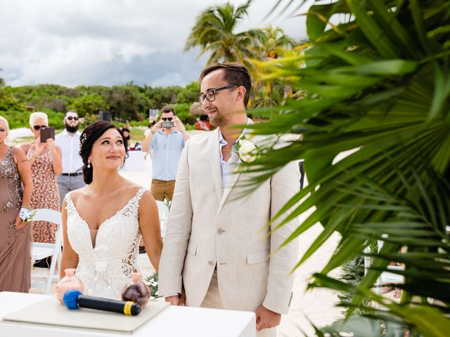 Mike and Kayla's Wedding in Playa del Carmen, Mexico 25
