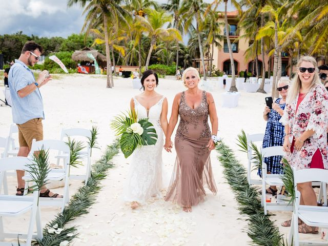 Mike and Kayla's Wedding in Playa del Carmen, Mexico 26