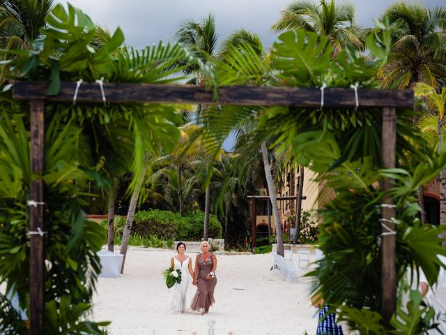 Mike and Kayla's Wedding in Playa del Carmen, Mexico 27