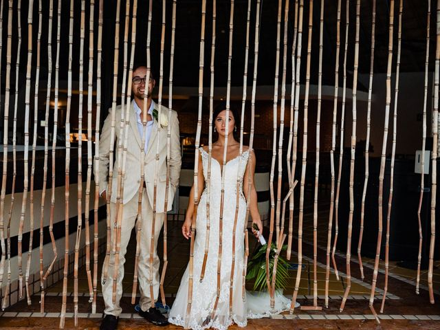 Mike and Kayla's Wedding in Playa del Carmen, Mexico 29
