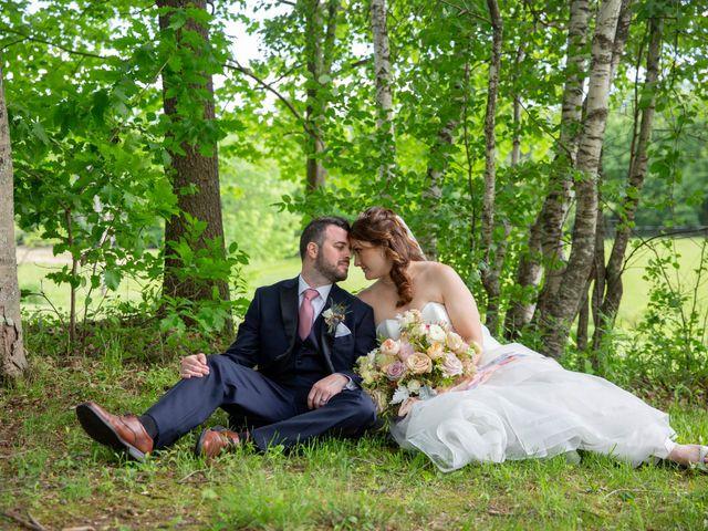 The wedding of Joseph and Lydia