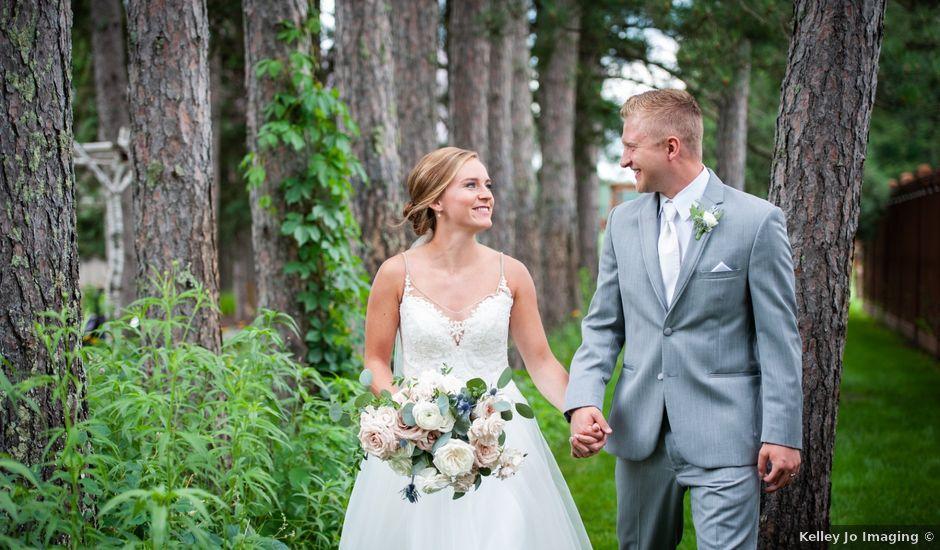 Jake and Taylor's Wedding in Crosslake, Minnesota