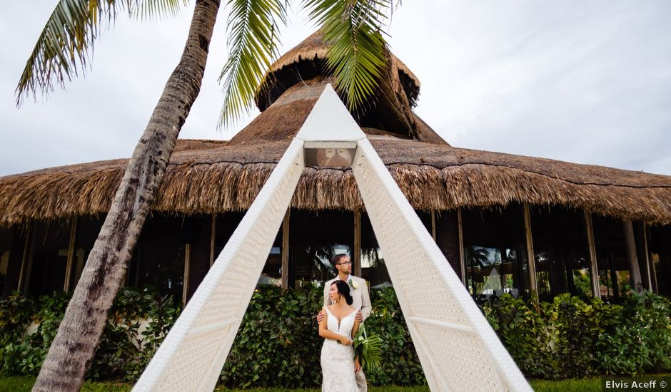 Mike and Kayla's Wedding in Playa del Carmen, Mexico