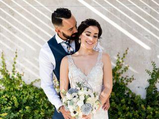 The wedding of Alitza and Michael
