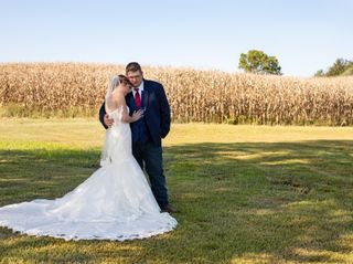 The wedding of Hayley and Dustin