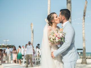 The wedding of Eli and Sergio