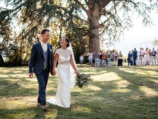 The wedding of Giorgina and Robert
