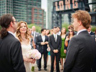 The wedding of Bridget and Evan 1