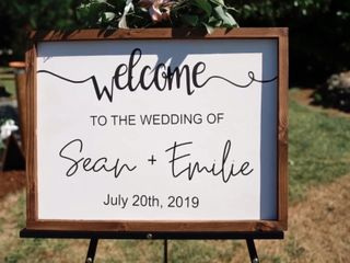 The wedding of Emilie and Sean 2