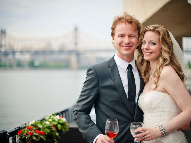 The wedding of Bridget and Evan