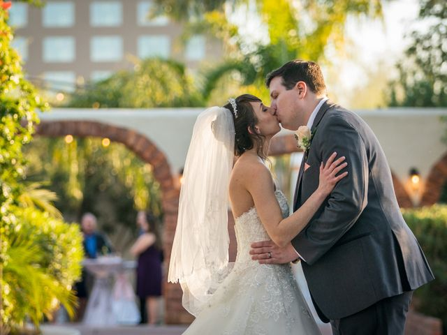 The wedding of Melissa and Anthony