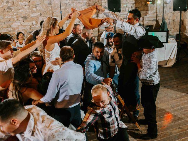 Stephanie and Rene's Wedding in Winfield, Kansas 11