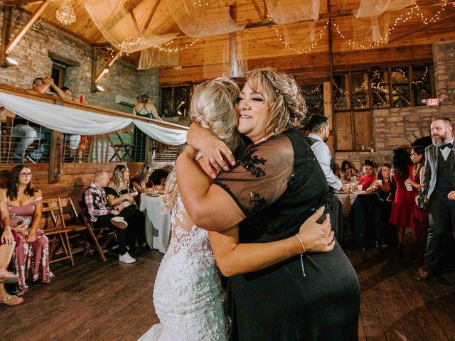 Stephanie and Rene's Wedding in Winfield, Kansas 15