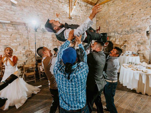 Stephanie and Rene's Wedding in Winfield, Kansas 17