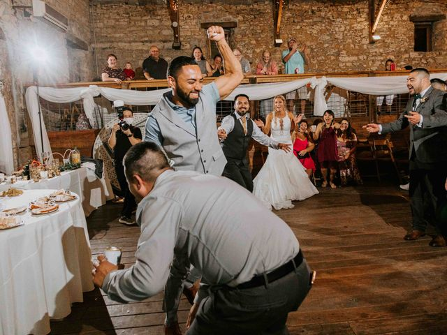 Stephanie and Rene's Wedding in Winfield, Kansas 18