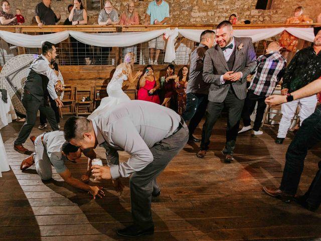 Stephanie and Rene's Wedding in Winfield, Kansas 19