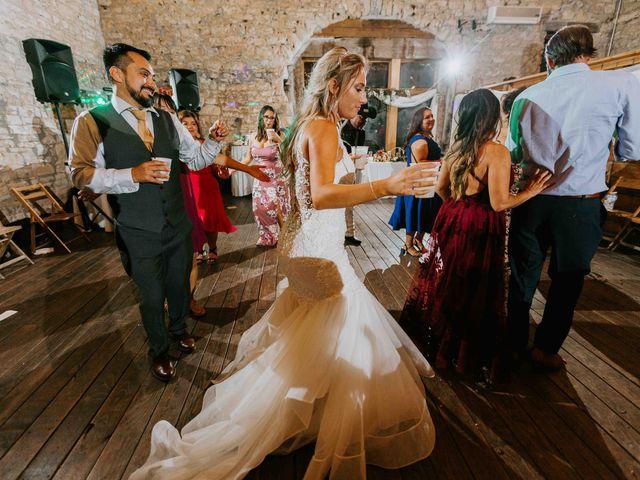 Stephanie and Rene's Wedding in Winfield, Kansas 28